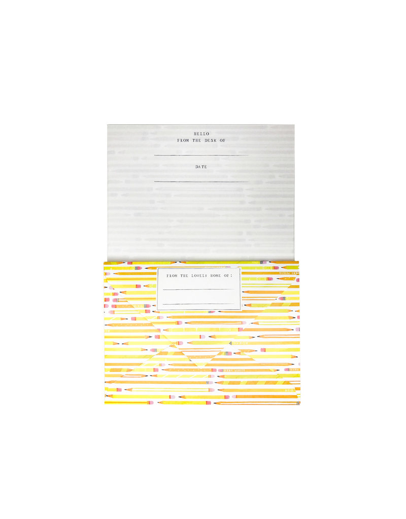Pencils Letterhead Set