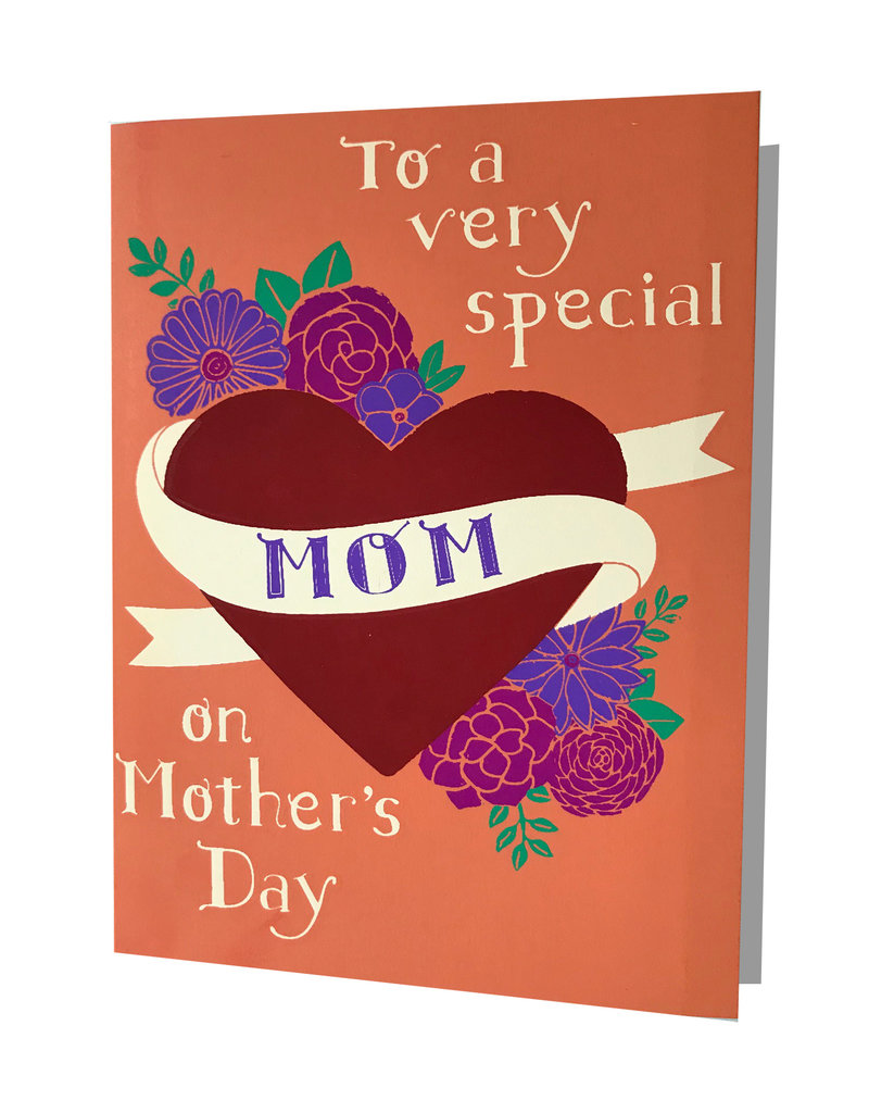 Very Special Mom Heart