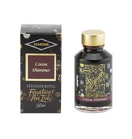 Diamine Diamine Shimmer Cocoa Bottled Ink 50ml