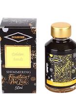 Diamine Diamine Shimmer Golden Sands Bottled Ink