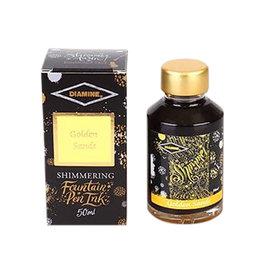 Diamine Diamine Shimmer Golden Sands Bottled Ink 50ml