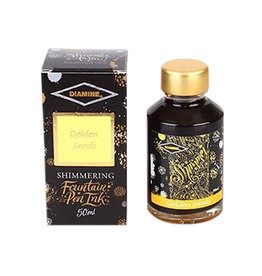 Diamine Diamine Shimmer Golden Sands Bottled Ink