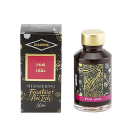 Diamine Diamine Shimmer Pink Glitz Bottled Ink