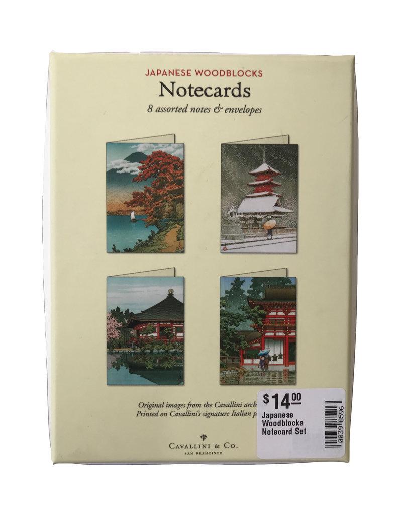 Japanese Woodblocks Notecard Set