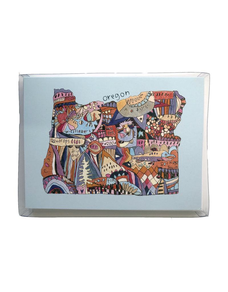 Allport Editions Oregon Doodle Boxed Set