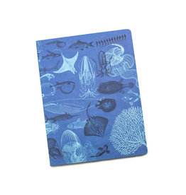 Marine Biology Softcover Lined Notebook