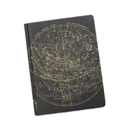 Star Chart Hardcover Line/Grid Notebook