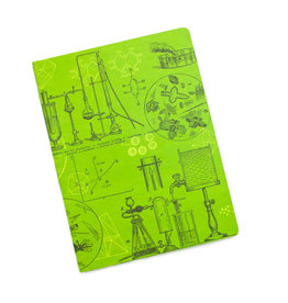 Chemistry Plate 3 Softcover Dot Notebook
