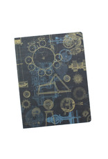 Mechanical Engineering Softcover Dot Notebook