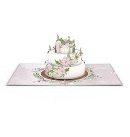 Lovepop Floral Cake Pop-Up Card