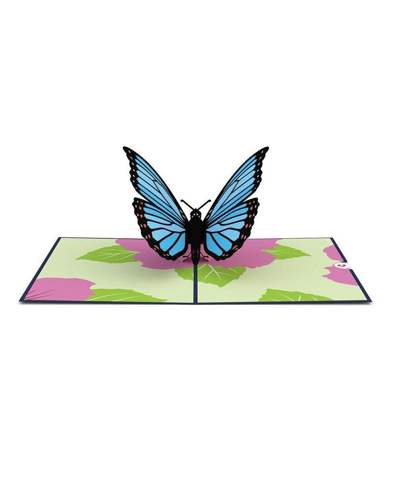 Lovepop Blue Morpho Butterfly