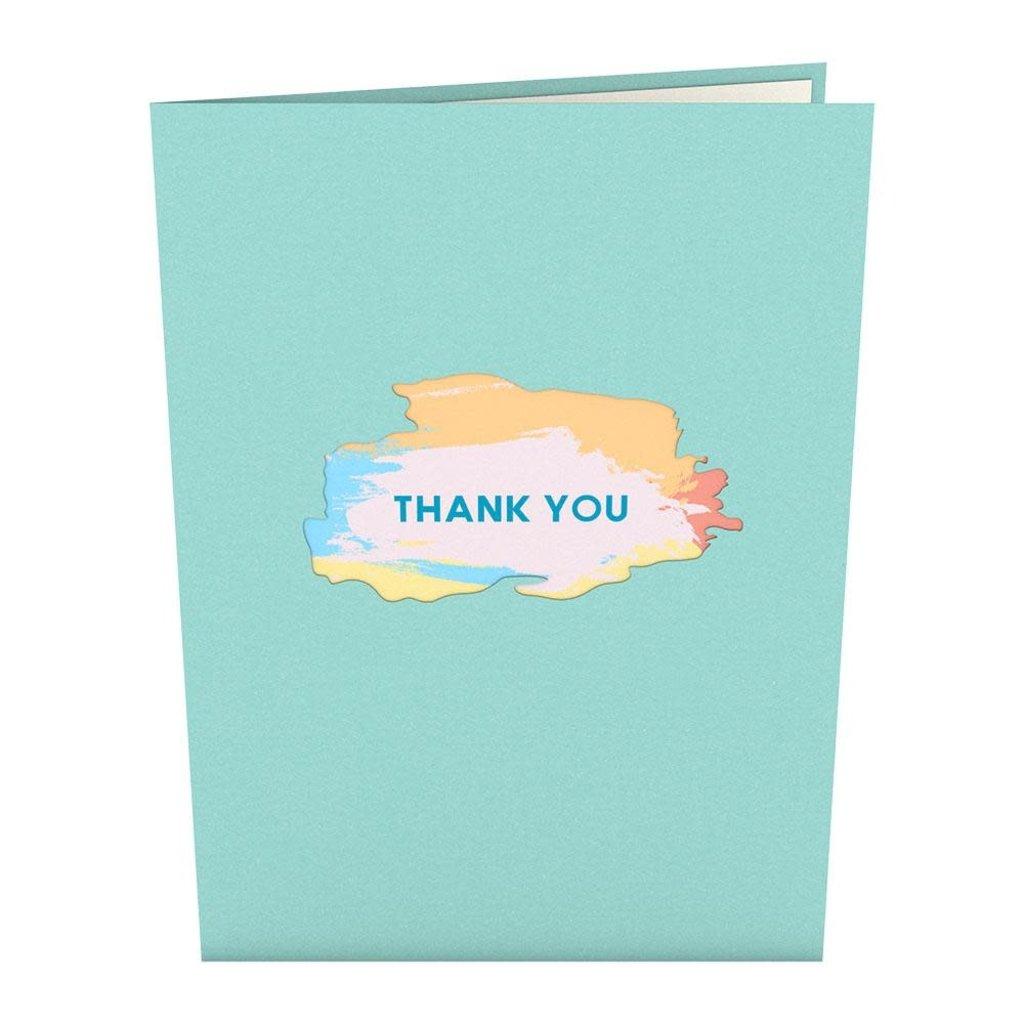 Lovepop Artistic Thank You Pop-Up Card