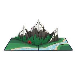 Lovepop Mountains Pop-Up Card