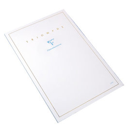 Clairfontaine Triomphe Ruled 6 x 8 Stationery Pad