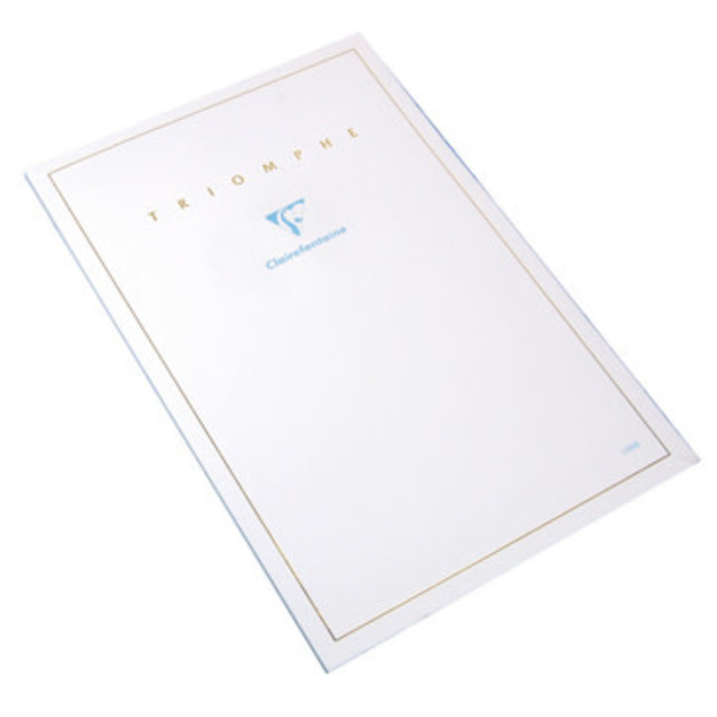 Clairfontaine Triomphe Blank 6 x 8 Stationery Pad