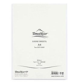 Tomoe River Tomoe River A4 Loose Sheets - Dot Grid Cream