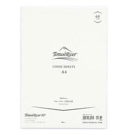 Tomoe River Tomoe River A4 Loose Sheets - Blank Cream