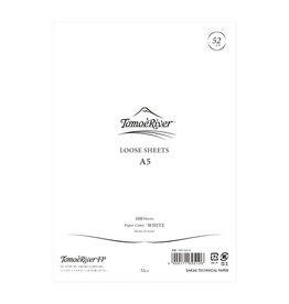 Tomoe River Tomoe River A5 Loose Sheets - Blank White