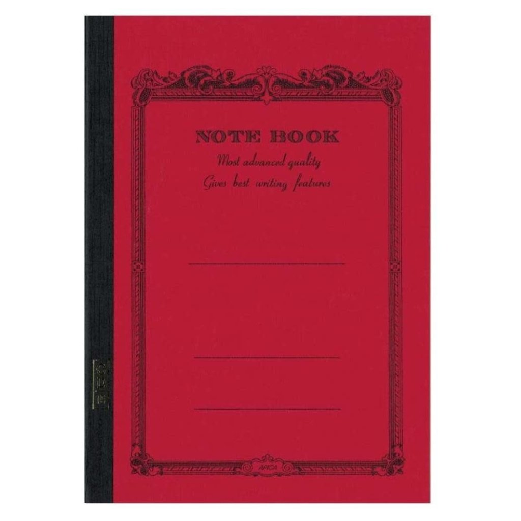 Apica Apica B5 Notebook - Red