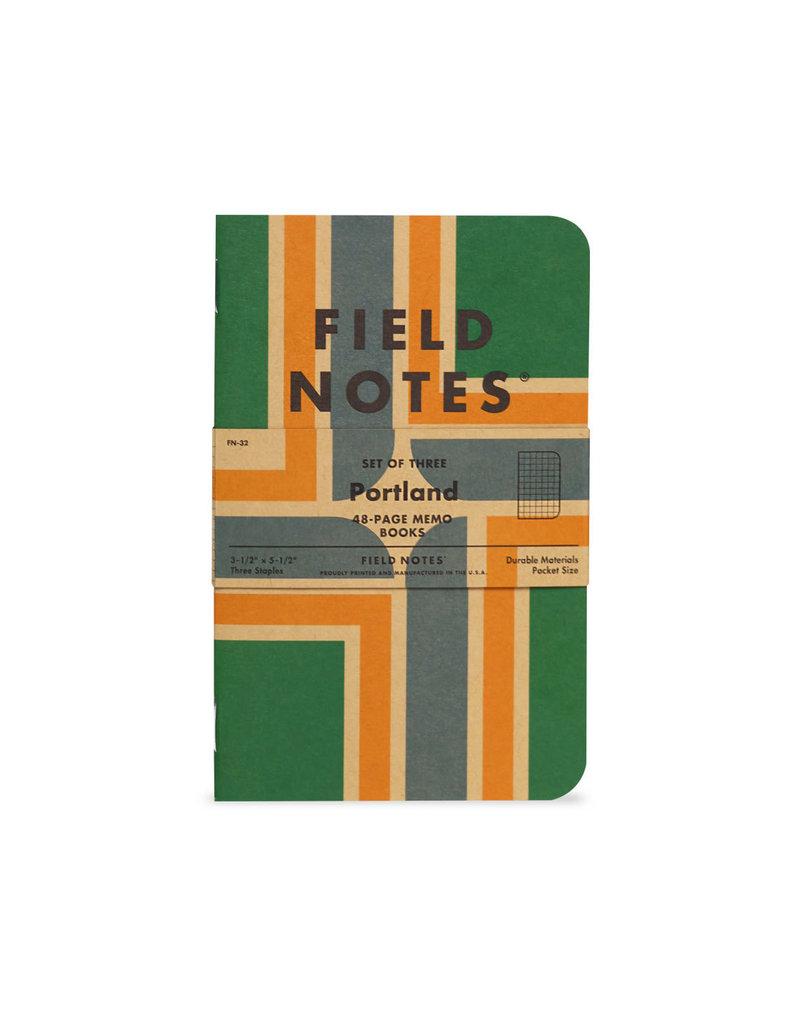 Field Notes Portland 3-Pack Memo Books