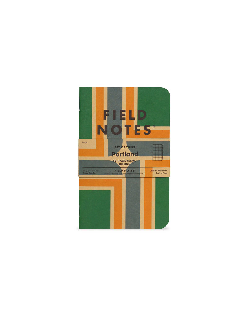 Field Notes Portland 3-Pack Memo Books