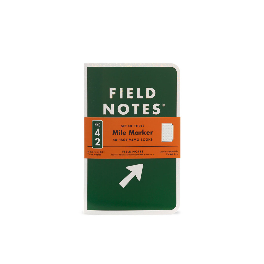 Field Notes Mile Marker 3-Pack Special Edition