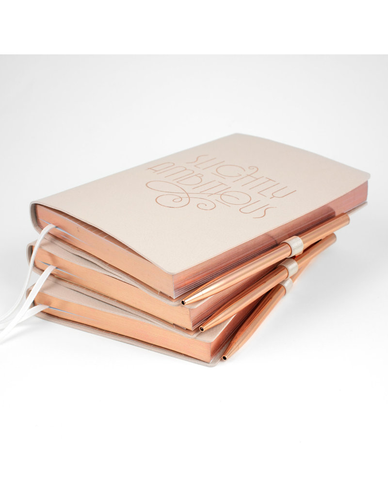 Ambitious Journal with Rose Gold Pen