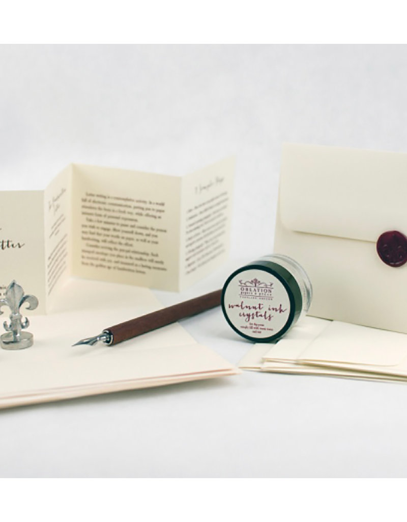 Oblation Papers & Press How to Write a Letter Kit
