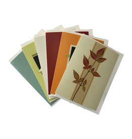 Printed Cards - Mixed Foliage Note Set