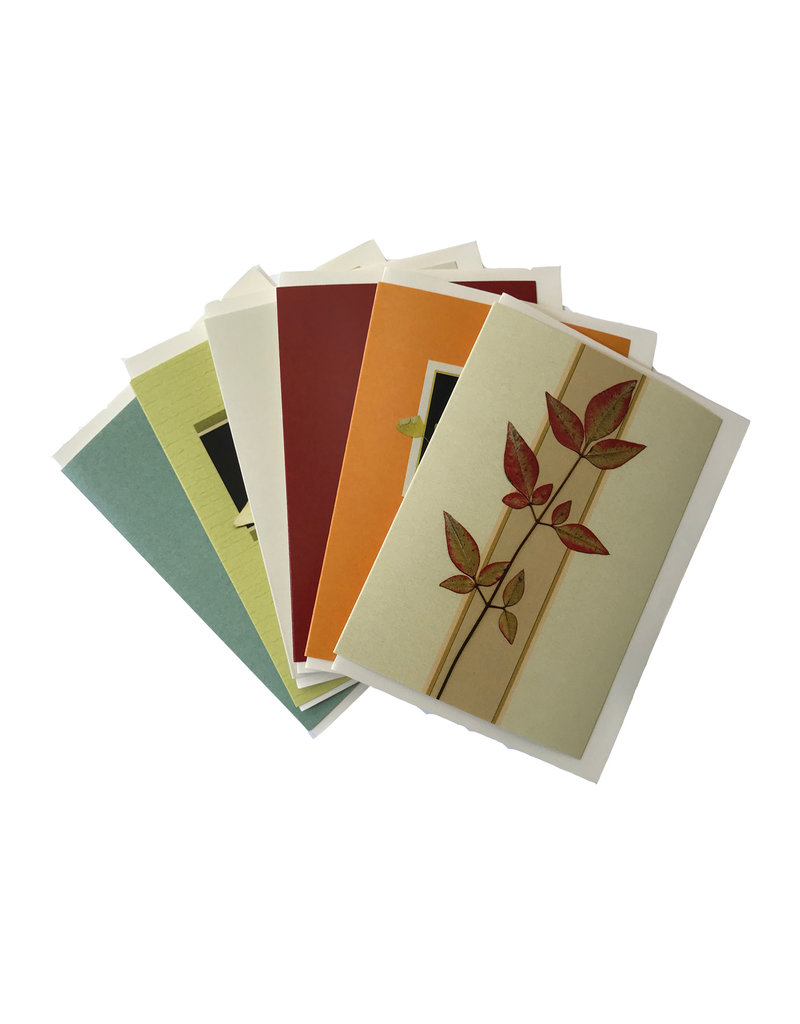 Printed Cards - Mixed Foliage Note Set