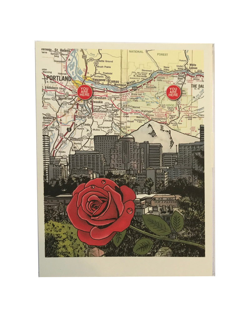 Rose City and Mt. Hood