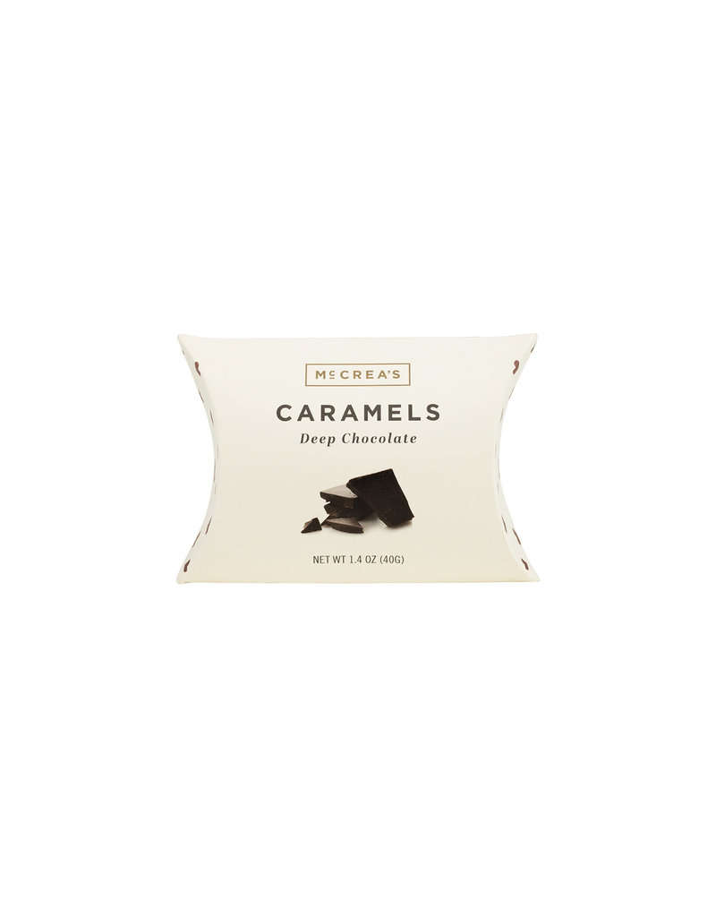 Deep Chocolate Caramels - Pillow Box