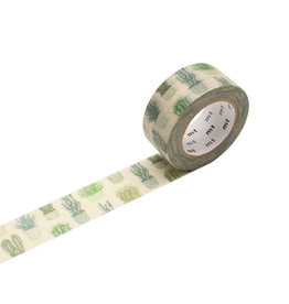 Cactus Pattern Washi Tape