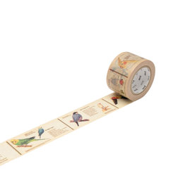 Encyclopedia Bird Washi Tape