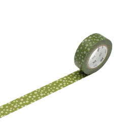 Green Blossom Washi Tape