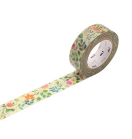 Floral Watercolor Washi Tape