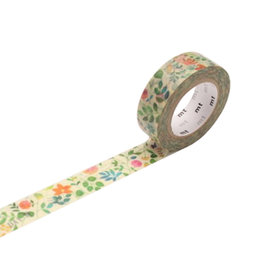 mt Floral Watercolor Washi Tape