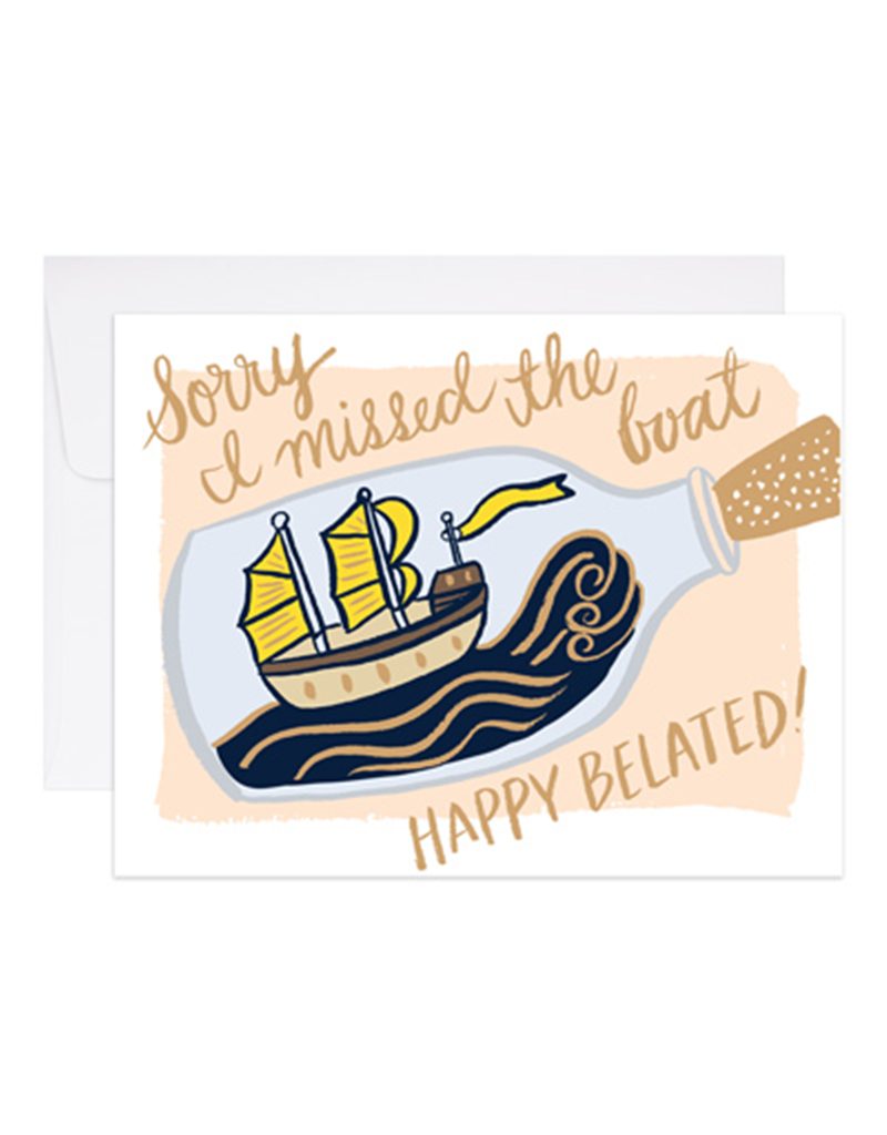 Missed the Boat Belated Birthday