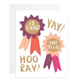 9th Letterpress Way To Go Grad