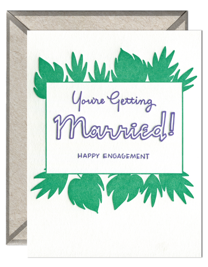 Ink Meets Paper You're Getting Married