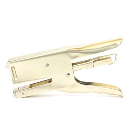 Kikkerland Brass Dog Stapler