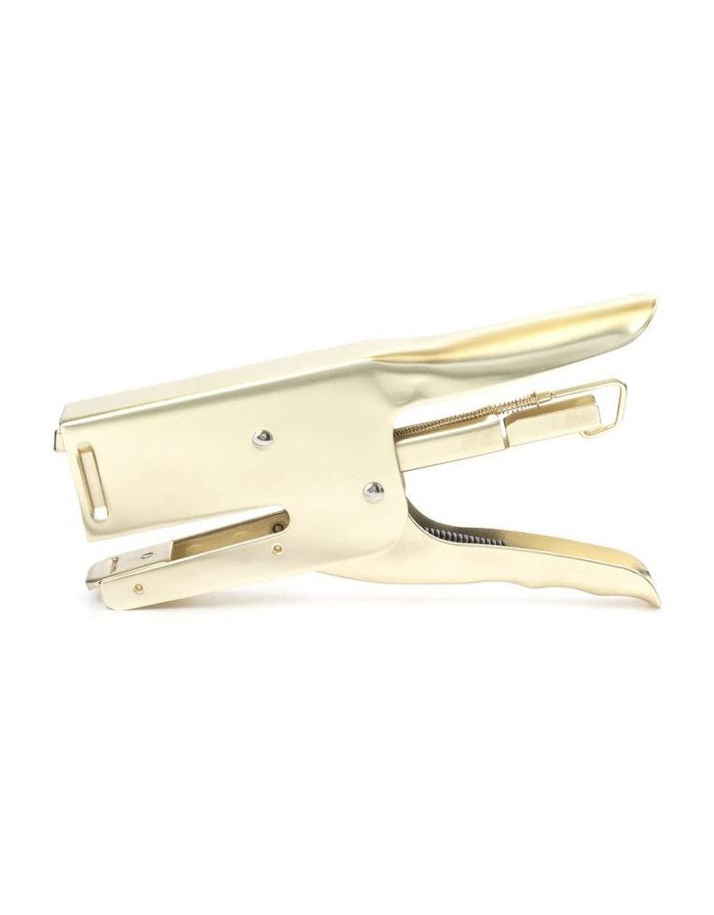 Kikkerland Brass Dog Stapler