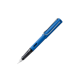 Lamy Lamy Al Star Ocean Blue Fountain Pen Medium Nib