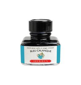 J. Herbin J Herbin Bottled Ink Bleu Calanque