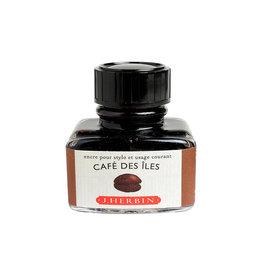 J. Herbin J Herbin Bottled Ink Cafe Des Iles 30ml