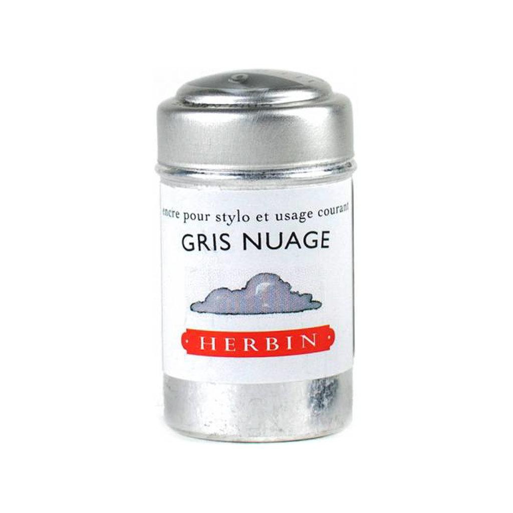 J. Herbin J Herbin Ink Cartridges Gris Nuages