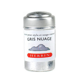 J. Herbin J Herbin Ink Cartridges Gris Nuages
