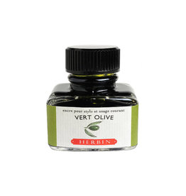 J. Herbin J Herbin Bottled Ink Vert Olive 30ml