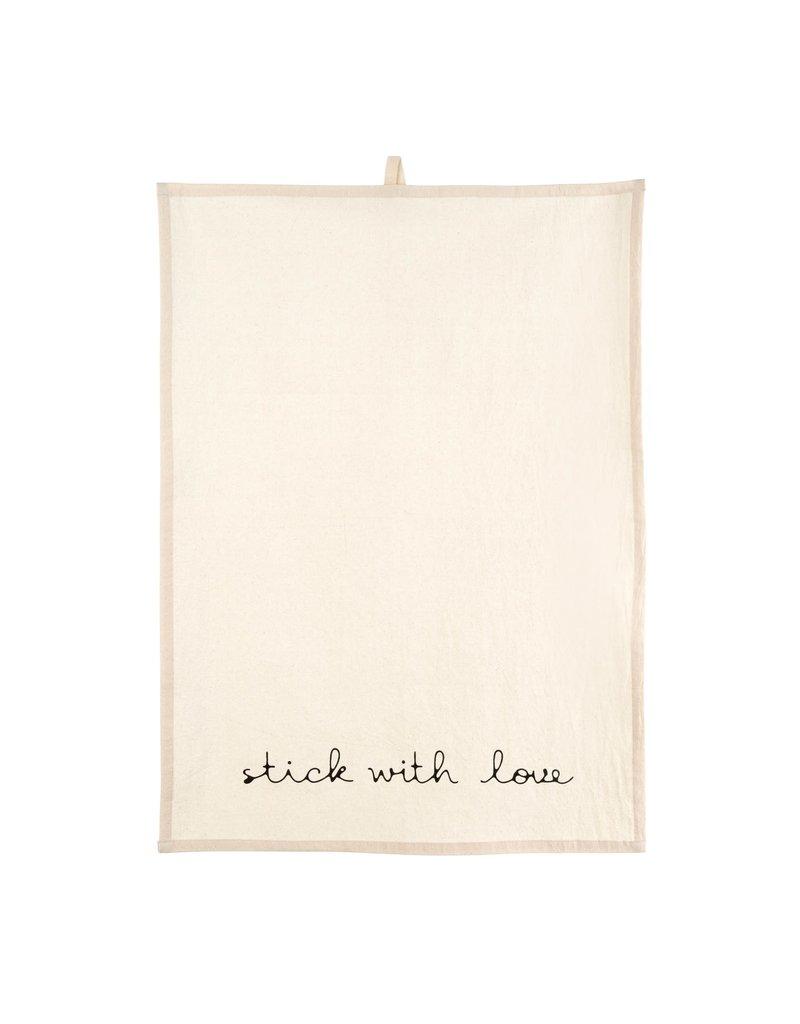 Indaba Stick With Love Tea Towel