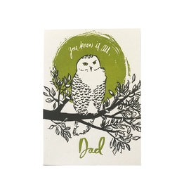 You Know it All Owl Dad